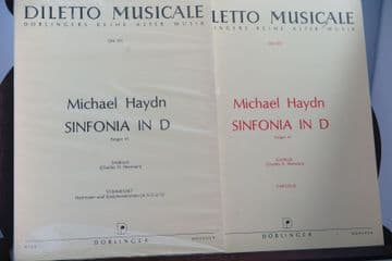 Haydn M - Sinfonia in D Perger 41